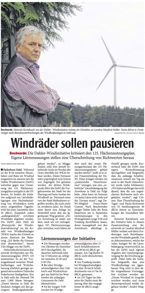 2016_01_27 NW Windraeder sollen pausieren